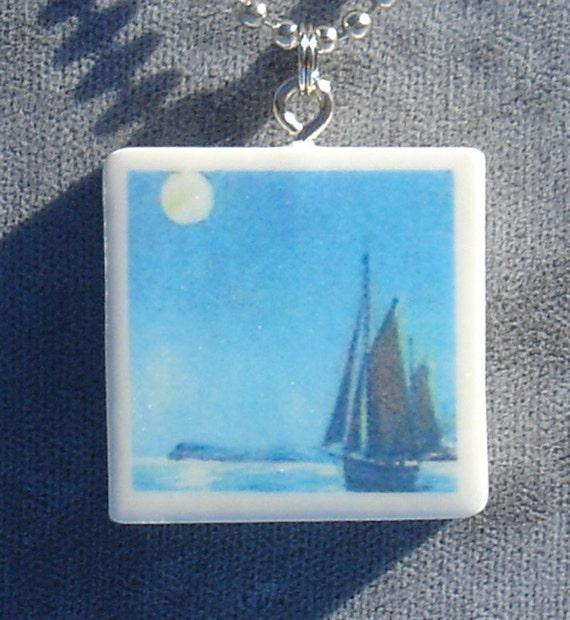 Come Sail Away Pendant Necklace