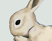 Bunny 8x10 print