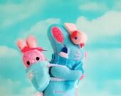 Reserved for Kristen---Easter Basket Bunny