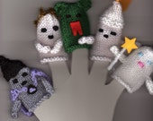 5 Fairytale Finger Puppets