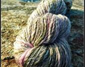 Heart's Content - Handspun Yarn - Merino, Bamboo, Mohair, Silk, etc. - 316 yards