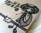 Knit Buddies Moleskine Cahier Journal . Extra Large XL Notebook . Plain