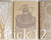 Pick 12 Moleskine . Pocket Size