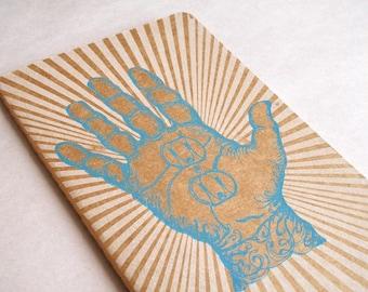 Hand Moleskine . Large . Plain