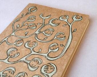 Little Monster Moleskine Cahier Journal . Large Notebook . Plain