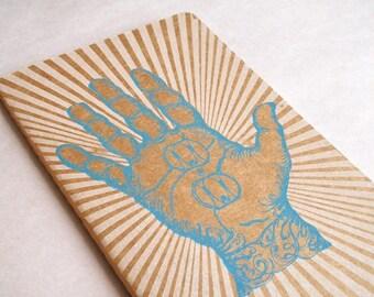 Hand Moleskine . Large . Ruled