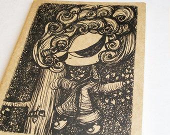 Imaginary Friend Moleskine . XL Cahier . Plain Pages