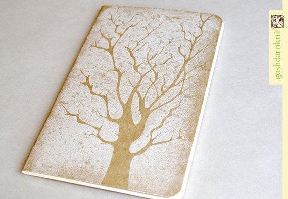 Skeleton Tree Moleskine . Pocket . Plain