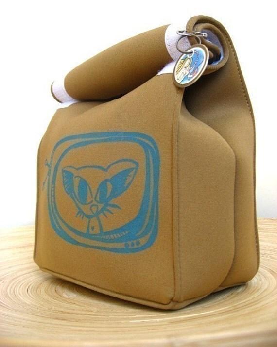 Astrid - Reusable Lunch Bag - Gocco Printed