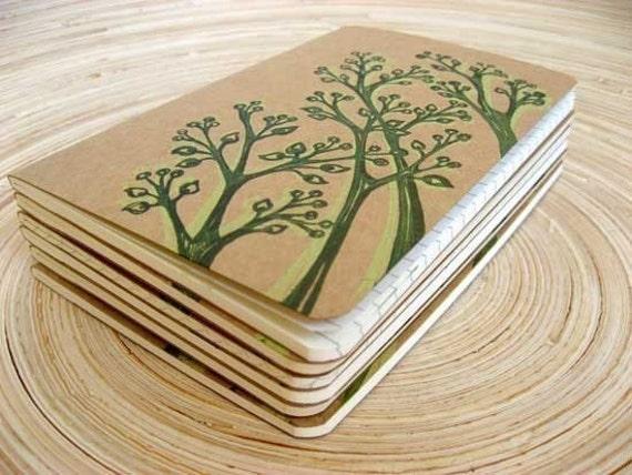 Shadow Pods  .. Moleskine Cahier Pocket Notebook Journal .. Ruled