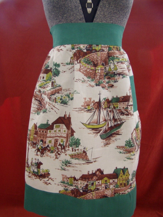 Where I Want To Live - Vintage Apron