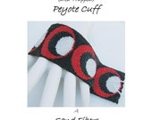 Peyote Pattern - A (Peyote) Cuff with No Name  - A Sand Fibers For Personal Use Only PDF Pattern - 3 for 2