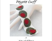 Peyote Pattern - Martini, Anyone Cuff / Bracelet - A Sand Fibers For Personal Use Only PDF Pattern - 3 for 2 Savings Program