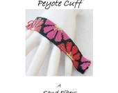 3 for 2 Program - Pop Flowers Peyote Cuff - For Personal Use Only PDF Pattern