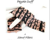 Peyote Pattern - Gila Monster Cuff/Bracelet - A Sand Fibers For Personal Use Only PDF Pattern - 3 for 2 Savings Program
