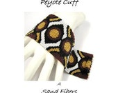 Peyote Pattern - Eyes of the Circle Cuff / Bracelet - A Sand Fibers For Personal Use Only PDF Pattern - 3 for 2 Savings Program