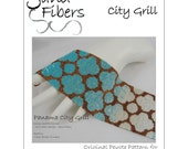 Panama City Grill Peyote Cuff / Bracelet  - A Sand Fibers For Personal/Commercial Use PDF Pattern
