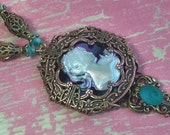 Steampunk Victoria Filigree Necklace