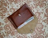 Misbehavin Wallet - Walnut Leather