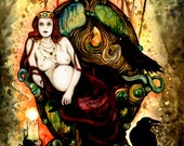 The Morrigan Celtic Goddess