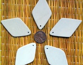 Five Ready to Decorate Hand carved African Soapstone Pendants