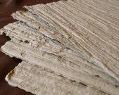 Sand Dunes - Ridged Handmade Paper