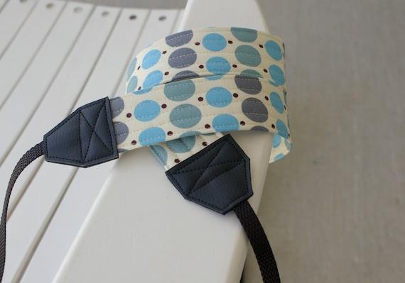 DSLR - SLR Camera Strap - Denyse Schmidt Fabric