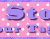 Butterfly Dot Etsy Store Banner and Avatar