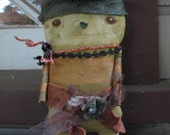 Primitive Outsider Doll Woodland Sprite