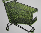 shopping cart gocco print