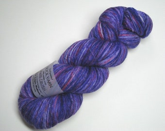 Speckled Sock Yarn in Grape Crush