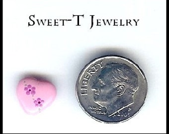 Handpainted Valentines Day Beads