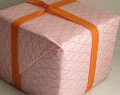 SALE - Jigsaw Gift Wrap - Pink\/Rose