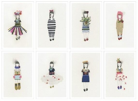 Little Papercuts - Print Set