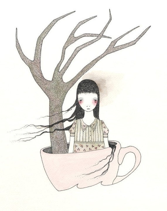 At Sea in a Teacup 1 - Print