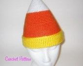 Candycorn Beanie Crochet Pattern
