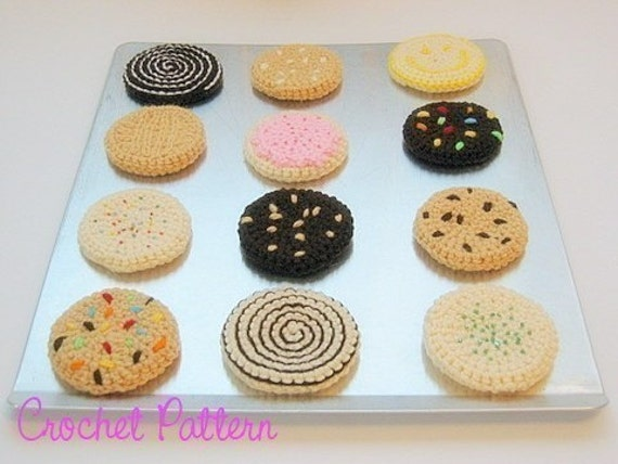 Crocheted Classic Cookies Pattern