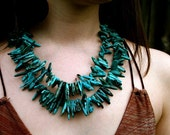 SALE-Turquoise Necklace SPEAK WISDOM