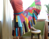 Recycled Jersey Skirt - CUSTOM SIZE