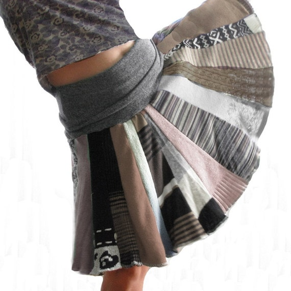 Adult LARGE Neutral sweater skirt