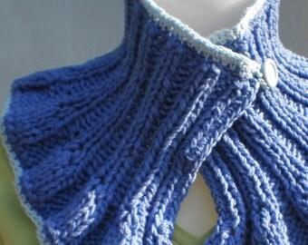 Beloved Blue Scarflette \/ Cowl