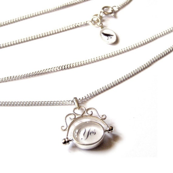 The Original Decision Maker - SOLID SILVER heirloom NECKLACE