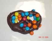 Chocolate Covered Pretzels - One Dozen