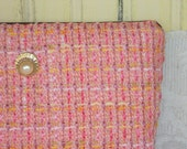 Pearly Pink Jewelry Case