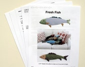 Fresh Fish Pillow Pattern pdf
