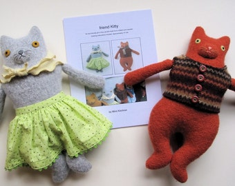 friend Kitty pdf Pattern Tutorial