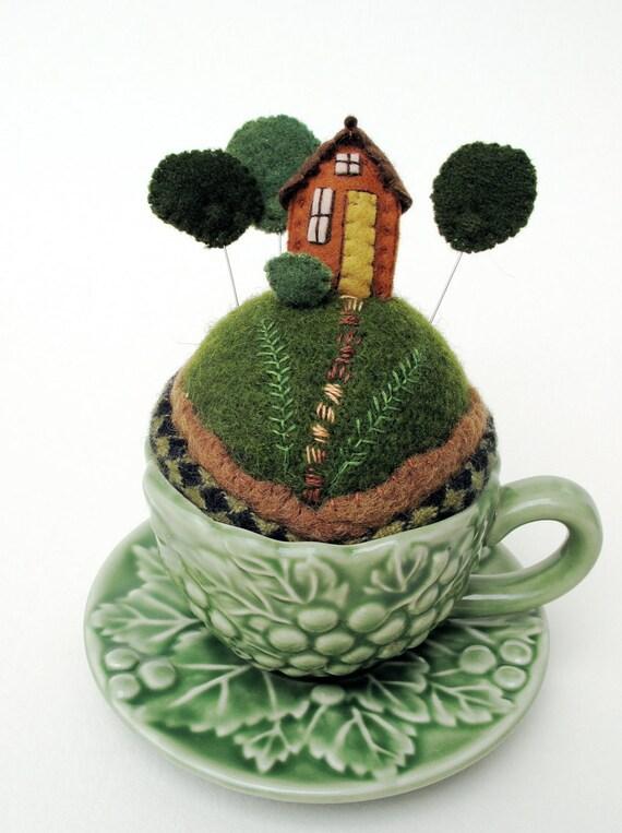 Forest Tiny World Pincushion