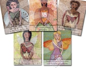 Spring fairy Cards PDF instant download