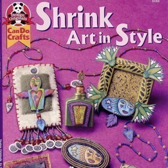 Shrink art in style shrink plastic book