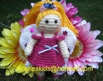 Blushing Becca Fairy Crochet Pattern
